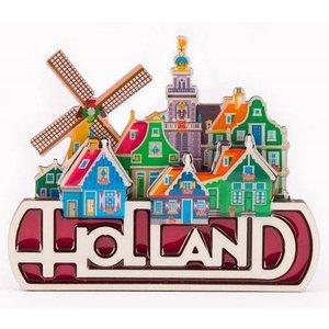 Typisch Hollands Magnet Holland - Dorpsgezicht