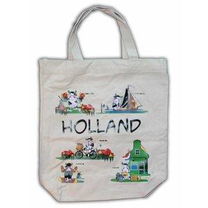 Typisch Hollands Eco - Linnen draagtas - Holland