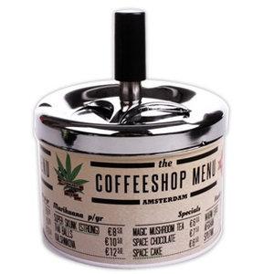Typisch Hollands Cannabis Items Drücken und drehen Aschenbecher