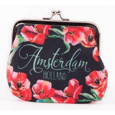 Typisch Hollands Portemonnee Holland - Tulpen