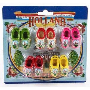 Typisch Hollands Clog-Magnete - Vorteilskarte
