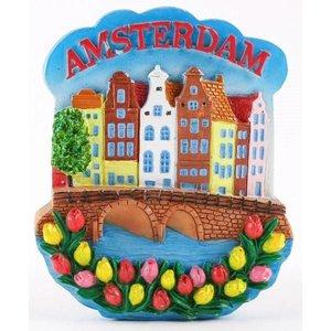 Typisch Hollands Magnet Amsterdam