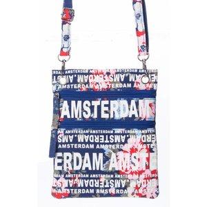 Robin Ruth Fashion Nektas - Paspoorttas - Amsterdam Blumen