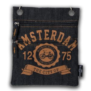 Robin Ruth Fashion Passport Pouch - Bike Amsterdam