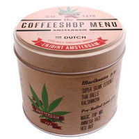 Typisch Hollands Cannabis Items Sirup Waffeln Canned