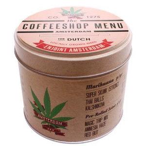 Typisch Hollands Cannabis Items Stroopwafels in Blik Coffeeshop