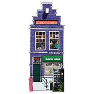 Typisch Hollands Magneet 3-D Amsterdam Weedshop