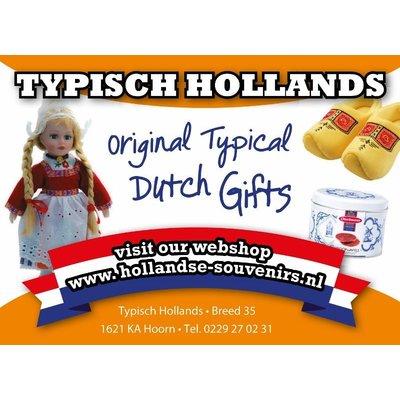 Typisch Hollands Magnet 3-D Amsterdam Weed-Shop