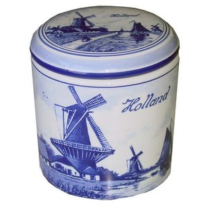 Typisch Hollands Storage pot (mill landscape)