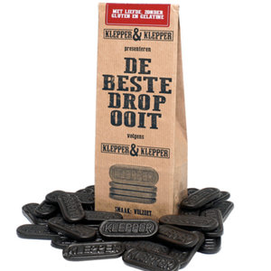 Typisch Hollands Volzoete Drop - De Beste Drop Ooit.( 4 stuks = voordeel )