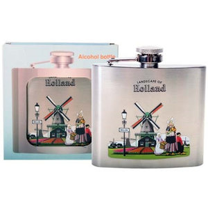 Typisch Hollands Hipflask - Aluminium - Holland