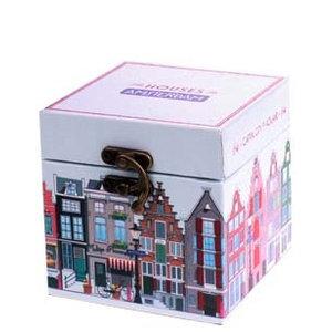 Typisch Hollands Holz Aufbewahrungsbox - beherbergt Amsterdam