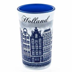 Typisch Hollands Schnapsglas Holland Blue