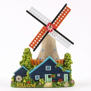 Typisch Hollands Magnet-Mühle