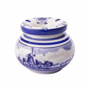 Typisch Hollands Delfter Blau Aschenbecher