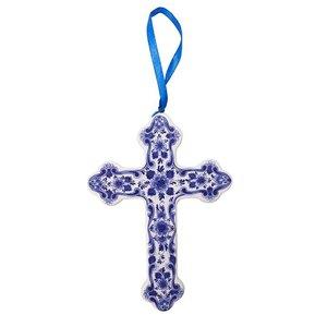Typisch Hollands Ornament Kreuz Delfter