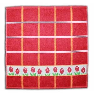 Typisch Hollands Kitchen towel - Red