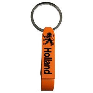 Typisch Hollands Öffner Keychain - Orange - Löwe