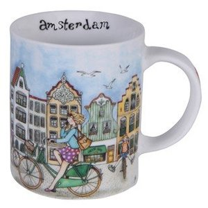 Typisch Hollands Beker - Koffie - Thee - cycle city