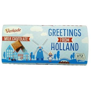 Typisch Hollands Chocolate Reep Holland - Mellk