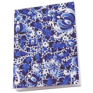 Typisch Hollands Notitieblok A6 Delfts blauw