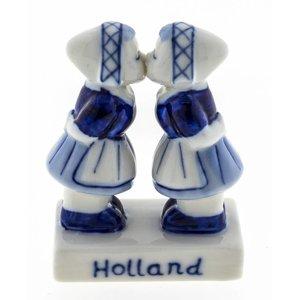 Typisch Hollands Lesbo koppel Delfts blauw - Holland