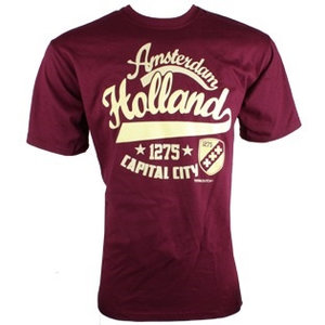 Typisch Hollands T-Shirt Amsterdam - Stadt