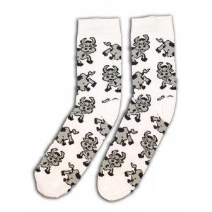 Robin Ruth Fashion Socken - Kuh-Druck