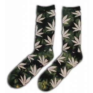 Robin Ruth Fashion Men's Socks (Cannabis)