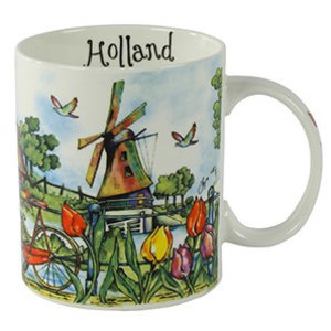 Typisch Hollands Cup bunter Holland - Mills