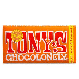 Tony`s - Chocolonely Tony`s - Chocolonely melk karamel zeezout