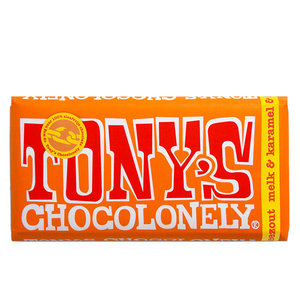 Tony`s - Chocolonely Tony`s - Chocolonely Milch Karamell Salzmeer