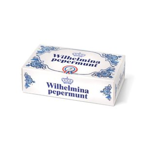 Typisch Hollands Wilhelmina Pepermunt doosje