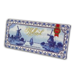 Typisch Hollands Chocolate - Holland - Delft blue