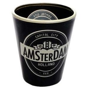 Typisch Hollands Shotglas Amsterdam Guinness