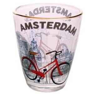 Typisch Hollands Shot Glass - Bike - Amsterdam