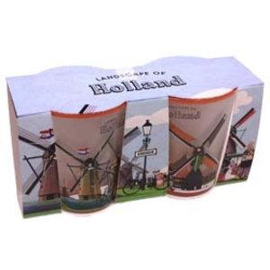 Typisch Hollands Shotglass set - Mills - Holland