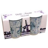 Typisch Hollands Shotglass set - Mills - Delftware