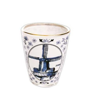 Typisch Hollands Shot glass Delft blue - Holland