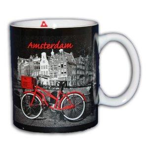 Typisch Hollands Becher Fahrrad in Geschenkbox