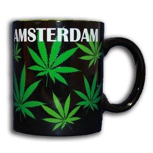 Typisch Hollands Cannabis-Becher in Geschenk-Box