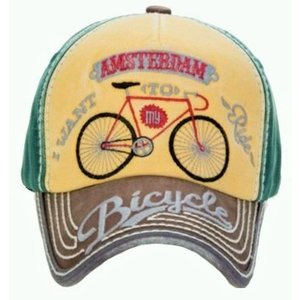 Robin Ruth Fashion Cap Amsterdam - Fiets - Typisch Hollands