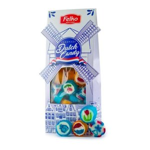 Typisch Hollands Dutch Candy - Windmühlenverpackung (Delft)