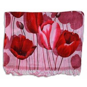 Robin Ruth Fashion Ladies Shawl Tulip Print Robin Ruth