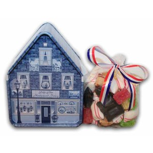 Typisch Hollands Candy house - Delft blue