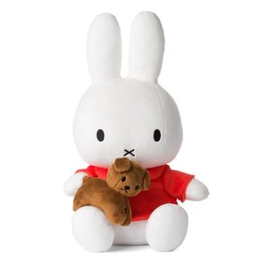 Nijntje (c) Miffy with snuffie the dog - Large 33cm