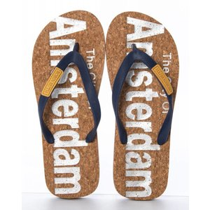 Robin Ruth Fashion Heren -Slippers - Amsterdam - Smalle bandjes