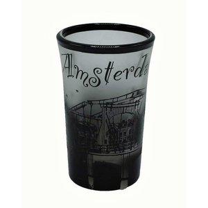 Typisch Hollands Shotglas - Magere brug - Frosted