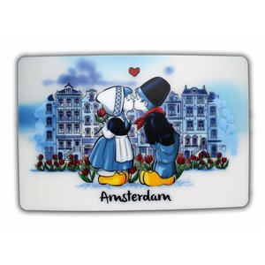 Typisch Hollands Platzdeckchen Kissing Couple Amsterdam
