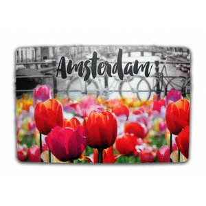 Typisch Hollands Placemat Tulpen - Amsterdam